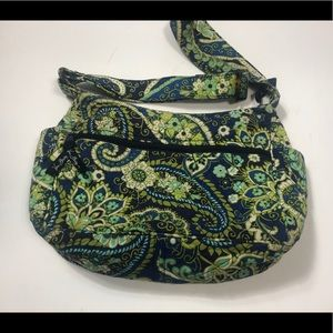 Vera Bradley Crossbody bag Rhythm and Blues Blue